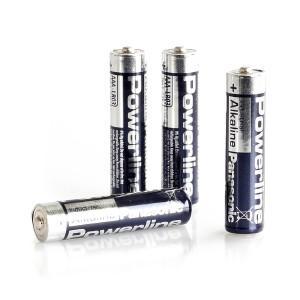 AAA-batteri Panasonic / Energizer / Toshiba, 4 st