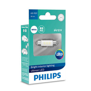 LED-spollampa PHILIPS 38 mm, Ultinon +160%