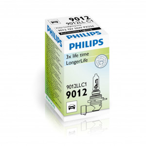 Halogenlampa PHILIPS LongLife, 55W, HIR 2