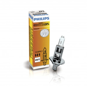 Halogeenipolttimo PHILIPS Vision +30%, 55W, H1