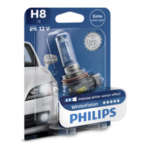 Halogenlampa PHILIPS WHITE Vision, 35W, H8