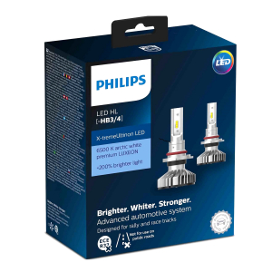 LED-konvertering PHILIPS X-TremeUltinon +200%, HB3/HB4