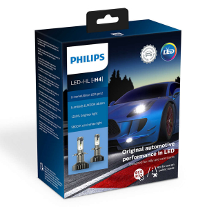 LED-konvertering PHILIPS X-TremeUltinon Gen2 +250%, H4