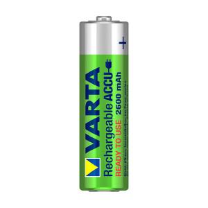 Laddbart AA-batteri VARTA Accu, 2600 mAh, 4 st