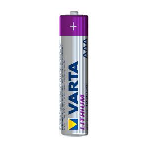 AAA-batteri VARTA Lithium, 4 st