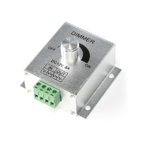 Dimmer till LED-slinga 12-24V