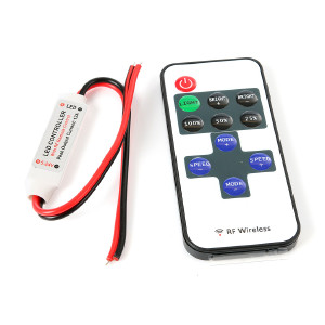 IR Kontrollenhet LED-slinga, 5-24 V, 12A, trådlös