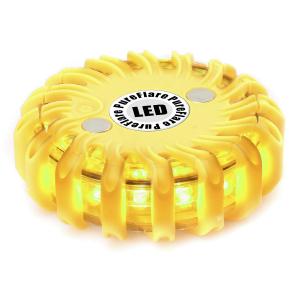 Ladattava LED-valokiekko PureFlare, Keltainen
