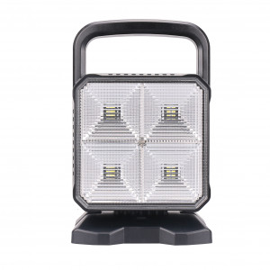 Laddbar LED-arbetslampa Strands, 16W