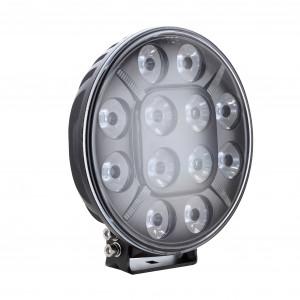 LED-Extraljus Strands Theta 9″ - Runda / 22 cm / 120W