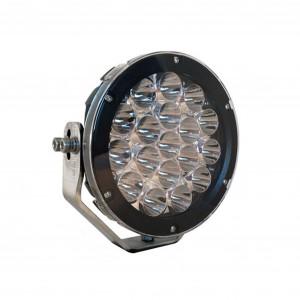 LED-Extraljus Viklight Oden - Runda / 17 cm / 90W