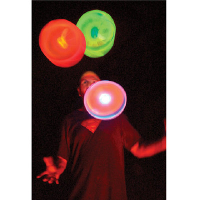 "LED-frisbee ""Flashflight"", 28cm"