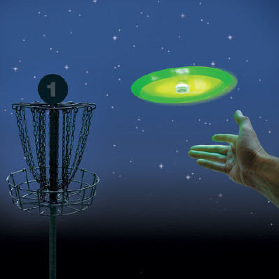 "Frisbeegolf LED-valo ""Hole In one"""