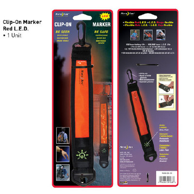 "LED huomionauha ""Clip-On Marker"", Nite Ize"