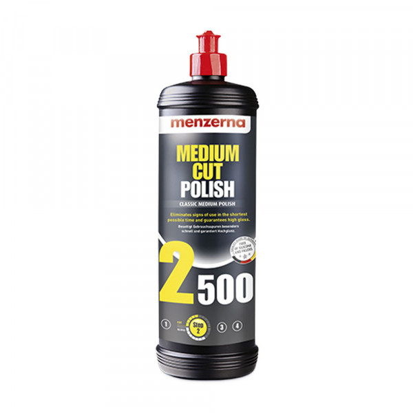 Poleringsmiddel Menzerna Medium Polish 2500, Rubbing / Polishing (1 steg)