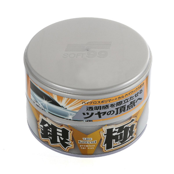 Bilvax Soft99 Extreme Gloss Wax The Kiwami Silver, 200 g