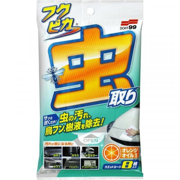 Puhdistusliina Fukupika Bugs & Dropping wipes