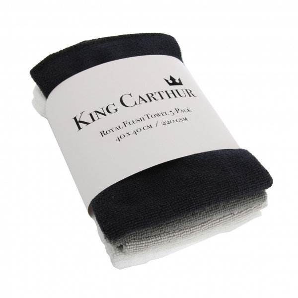 Allround Mikrofiberdukar - King Carthur Royal Flush
