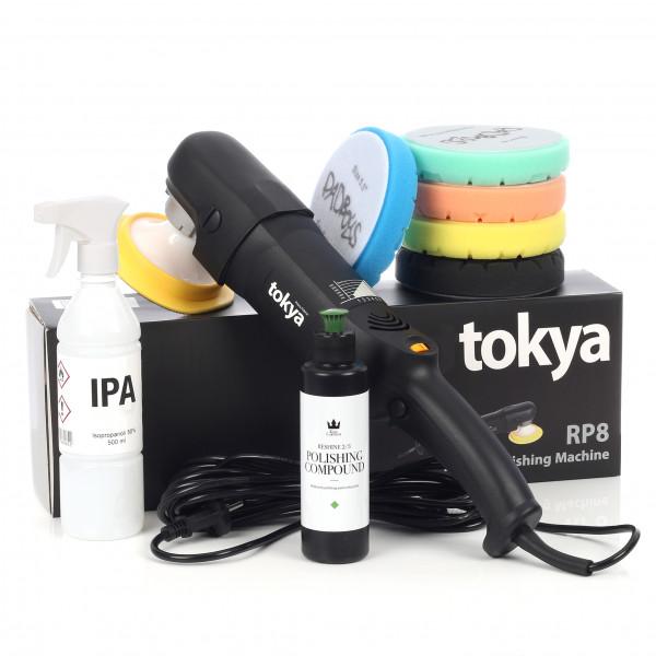 Poleringspakke Tokya RP8 All In One BASIC - Rotary