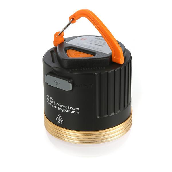 Laddbar LED-lykta med powerbank-funktion, Sunree CC3, 355 lm
